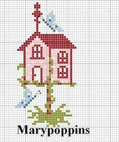 atmosfera di casa: bird house di maggio