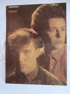 Tears for Fears Matt Dillon Poster from Greek Mags clippings 1970s 1990s | eBay