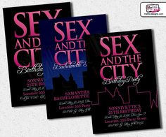 sex and the city invitation by metroevents on etsy bachelorette party invitations bridal shower invitations