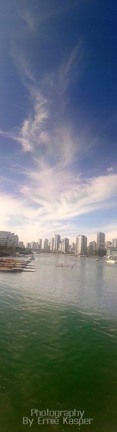#falsecreek #boats #buildings #sky #beautiful #bc #canada