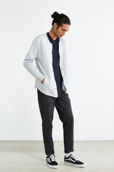CPO Landsdown Quilted Cardigan - Urban Outfitters