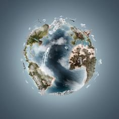 3D Atlas - Weston Fuller Photography on Behance