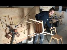 Cutting a Chair from OpenDesk with Maslow - YouTube