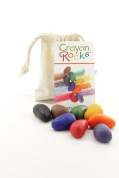 Crayon Rocks - 8 Colors - Little Goose Toys