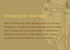 Our Chiropractic Wellness Motto.  Maintain your health and your body. Not only with Chiropractic, Acupuncture & Massage, but with your Home Care Program too. A good diet, exercise, proper rest and fluids. Vitamins, yoga, meditation, proper grooming, stretching, relaxing, taking a vacation, watching tv.  #backinmotion.us