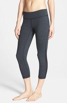 Zella 'Live In - Streamline' Cross Dye Capris - these are my favorite workout pants!