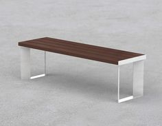 Public bench / contemporary / steel / in wood LEMMY by Gibillero design CITYSI srl