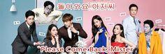 돌아와요 아저씨 Ep 1 Torrent / Please Come Back, Mister Ep 1 Torrent, available for download here: http://ymbulletin05.blogspot.com