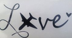Airforce LOVE car decal Military pride USAF mom girlfriend wife fiance on Etsy, . - Thinks Tatto Air Force Love, Air Force Girlfriend, Aviation Quotes, Aviation Decor, Pilot Wife, Airplane Tattoos, Flight Attendant Life, Military Love, Love Car
