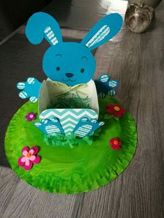 Bunny Crafts, Easter Crafts For Kids, Diy Ostern, Spring Crafts, Happy Easter, Easter Eggs, Diy And Crafts, Christmas Ornaments, Holiday Decor