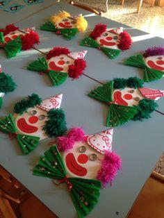 Circus Crafts, Circus Art, Diy Quilling Crafts, Neon Cactus, Student Crafts, Diy And Crafts, Arts And Crafts, Winter Crafts For Kids, Art Activities
