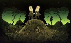 O artista londrino Steve Cutts é ilustrador e animador. | Um artista criou ilustrações deslumbrantes sobre a sociedade moderna