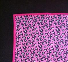 Cobertor Soft Pet Oncinha Rosa 50x50cm