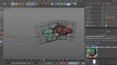 rig and animate fish