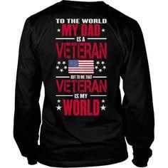 My Dad is an Army veteran. He is my hero.  ❤️