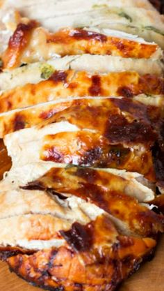 Herb-Rubbed Roast Turkey with Fresh Sage Gravy | Turkey, Gravy and ...