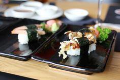 sapporo teppanyaki manchester soft shell crab sushi hollygoeslightly  http://hollygoeslightly.co.uk/food/sapporo-teppanyaki-manchester  #sushi #foodie #foodies #eatingout #manchester #mcr #japanesefood #sushiroll #food #foodblogger #fdblogger #blogger #restaurant #lifestyle #softshellcrab
