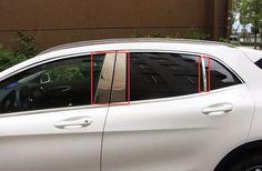 Nice Anti Car Rain Styling Upgraded Decorative Accessory Accessories Windows Visor For Mercedes Benz A B Gla Glc Glk Class Vito Exterior Accessories
