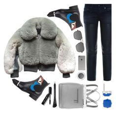 """""""fur"""" by sandevapetq ❤ liked on Polyvore featuring Marc Jacobs, Fendi, R13, Givenchy, Bobbi Brown Cosmetics, Liz Claiborne, Incase, H&M, Revo and women's clothing"""