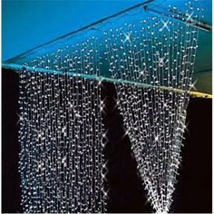 Wholesale x 300 LED Outdoor Party Christmas Xmas String Fairy Wedding Curtain Lights Lighting 8 Mode Decoration Led Curtain Lights, Icicle Lights, Fairy Lights, String Lights, Light String, Twinkle Lights, Window Lights, Wall Lights, Globe Lights
