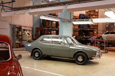 OG   1968 Saab 99   Prototype dated June 1965 © Bernard Canonne