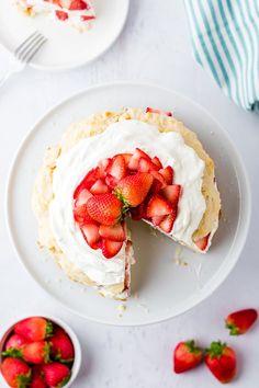 Strawberry Shortcake - an Easy Dessert recipe   Boulder Locavore® Fresh Strawberry Pie, Strawberry Filling, Strawberry Cakes, Strawberry Shortcake, Impressive Desserts, Easy Desserts, Dessert Recipes, Whipping Cream Uses, Sweet Whipped Cream