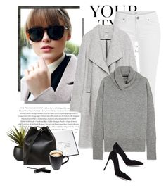 """""""Happy Sunday my sweet friends♡"""" by yexyka ❤ liked on Polyvore featuring Pussycat, Calvin Klein, Envi, Paige Denim, CB2, Zara, Thames & Hudson, The Row, Gianvito Rossi and 3.1 Phillip Lim"""