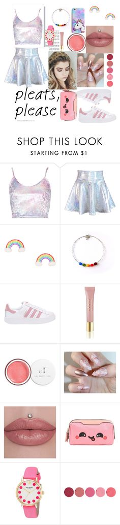 """#2 Dream pleats! 🌈🌈🌈"" by aura-helena ❤ liked on Polyvore featuring adidas Originals, AERIN, Anya Hindmarch, Kate Spade and Kjaer Weis"