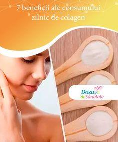 7 beneficii ale consumului zilnic de colagen Ca să îți protejezi sănătatea și frumusețea, nu ezita să profiți de principalele beneficii ale consumului zilnic de colagen. Health, Medicine, Loosing Weight, Varicose Veins, Collages, Health Care, Salud