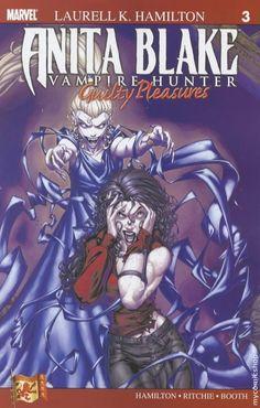 Anita Blake Vampire Hunter, graphic novel.