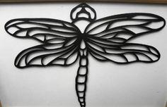 Amazon.com: Dragonfly Metal Wall Art Decor: Home & Kitchen