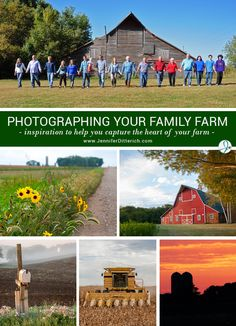 A wealth of photo tips and ideas to help you take fantastic pictures of your family farm.