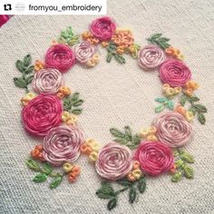 @fromyou_embroidery #broderie #bordado #embroidery #ricamo #handembroidery #needlework