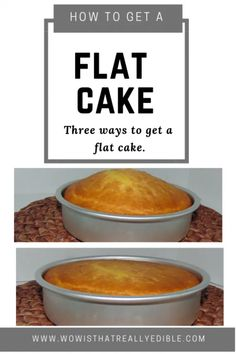 Three simple ways to get a flat cake layer every time & Wow! Custom Cakes+ Cake Decorating Tutorials Flat Top Cake& more cake humps learn three simple ways to get a flat cake Cake Decorating For Beginners, Easy Cake Decorating, Cake Decorating Techniques, Cake Decorating Tutorials, Cake Icing Techniques, Baking For Beginners, Piping Techniques, Birthday Cake Decorating, Decorating Ideas