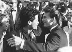 Rob Lowe and Patrick Swayze at Academy Awards