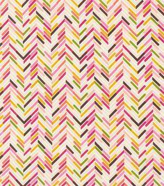 Keepsake Calico Fabric- Chevron Block
