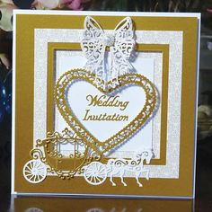 Tattered Lace - Lace Carriage Die from Create and Craft USA