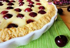 Vaníliás cseresznyés pite recept képpel. Hozzávalók és az elkészítés részletes leírása. A vaníliás cseresznyés pite elkészítési ideje: 50 perc