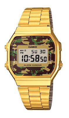 Aussi fashion que vintage ces dernières montre Casio camouflage ! Montre  Casio, Montres Chic, 6087003db66f