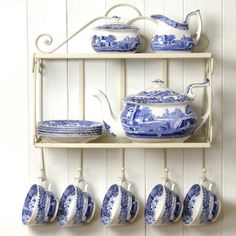 Spode Blue Italian.  Since 1816, the most beautiful blue and white china pattern