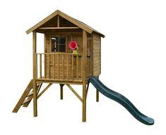 Houten speelhuis kopen? FunnyXL | TOP buitenspeelgoed