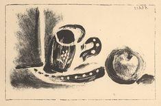 817b845785c Pablo Picasso  Jeu de la Cape . Black and white lithograph from a set of  four original lithographs created by …