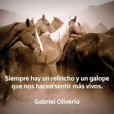 Resultado de imagen para la espiritualidad y los caballos gabriel oliverio