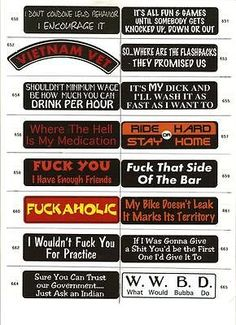 X Funny Biker Helmet Decals Custom Hardhat Stickers - Custom motorcycle stickers funny