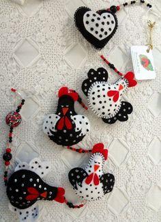 Móbile Decorativo - Galinha D´Angola: