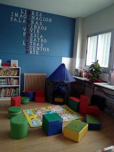 Biblioteca del CEIP JUAN PABLO I DE VALDERRUBIO GRANADA