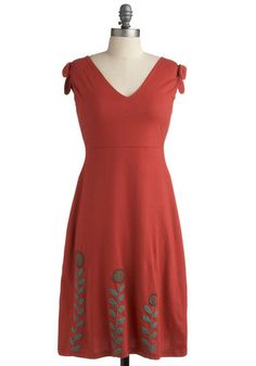 Twist and Sprout Dress