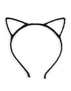 Opaska Kocie Uszy - Czarna #paniKOTA #koty #kociara #kocierzeczy #opaska #wieczórpanieński #przebraniekot
