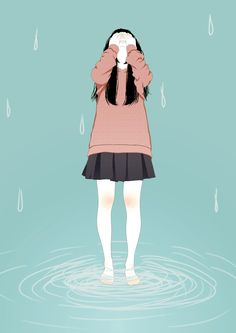 Its a story about rain, that join the tears together..