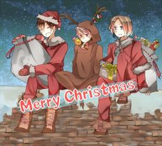 Prussia Spain France Hetalia BTT Merry Christmas Bad Touch Trio, Hetalia, Japan Funny, Funny Google Searches, Bad Friends, Have A Good Night, Prussia, Wattpad, Memes